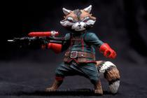 (loose) Marvel Legends 6-inch Rocket Racoon EE Exclusive - Hasbro
