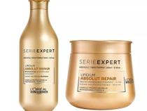 Loreal Absolut Repair Cortex Lipidium Kit Shampoo 300ml e Máscara 250ml
