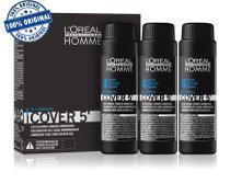 Loréal Homme Cover 5 - N 4 Castanho 3x50ml - Loreal