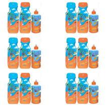 Lorys Kids Orange Shampoo + Condicionador 500ml + Creme 300g (Kit C/06) -