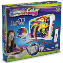Lousa 3D Magnética Magna Color - Dtc -