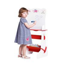 Lousa Lousinha Infantil 2 Em 1 Quadro Branco e Verde Princesa - Stalo