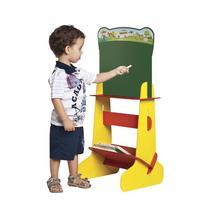 Lousa Lousinha Infantil 2 Em 1 Quadro Branco e Verde - Stalo