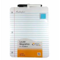 Lousa magnetica 28x21,5cm wpl20006 / un / rocie -