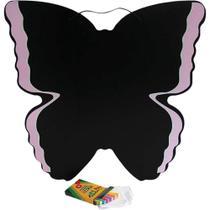Lousa Quadro Negro Abrakidabra Borboleta 9725 -