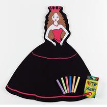 Lousa Quadro Negro Princesa Crayola -