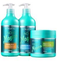 Lowell Cacho Mágico Shampoo Creme Modelador E Máscara -