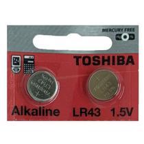 LR43 186 1,5V TOSHIBA / 2 Baterias -