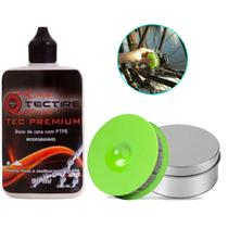 Lubrificante Tec Tire Premium Cera Longa Duracao 90ml+ Aplicador Fácil - TECTIRE
