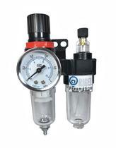 Lubrifil de 1/4 - Filtro Regulador e Lubrificador com Suporte e Manômetro - Rigel Pneumaticos