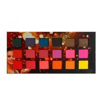 Ludurana paleta de sombras matte 18 tons quadrada 18g ref.007794 -