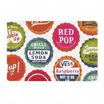 Lugar Americano Retangular Print Pop PVC-Copa e Cia -