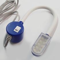Luminária 10 LEDs com haste flexível, capa de proteção nos Leds e fixação magnética - LANMAX -