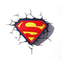 Luminária 3D Light FX Logo Superman - Beek -