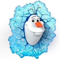 Luminária 3D Light FX Olaf Frozen Original Disney -