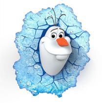 Luminária 3D Light FX Olaf Frozen -