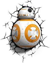 Luminária 3D Light FX Star Wars BB-8 -