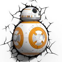 Luminária 3D Light Fx Star Wars BB8 - Beek -