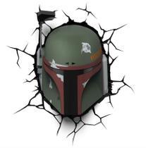 Luminária 3D Light FX Star Wars Boba Fett -