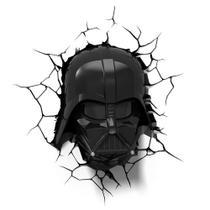 Luminária 3D Light FX Star Wars Darth Vader Helmet -