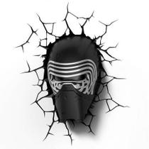 Luminária 3D Light FX Star Wars Kylo Ren -