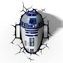 Luminária 3D Light Fx Star Wars R2D2  - Beek -