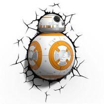 Luminária 3D Star Wars BB-8 BB8 - 3D Light Fx