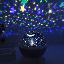 Luminaria Abajur Projetor De Estrelas Giratório - Luatek