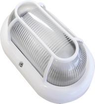 Luminária Arandela Tartaruga Branca Bivolt Blumenau Iluminação Uso Externo Resistente a Água Soquete E27 -