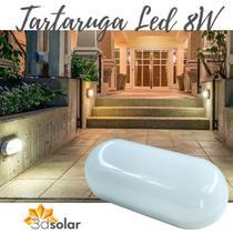 Luminária Arandela Tartaruga Led 8w - Com Garantia - Ctb