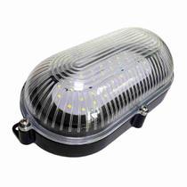 Luminária Arandela Tartaruga Preta de LEDs SMD - DNI 6201 - Key West