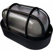 Luminária Arandela Utron Tartaruga 19cm Para Parede Externa -