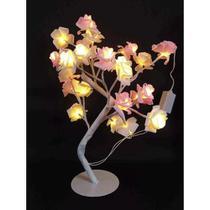 Luminária Arvore 24 Rosas Leds - Sunflower