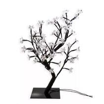 Luminária Árvore Flor De Cerejeira 48 Leds Abajur 220v - Coisaria