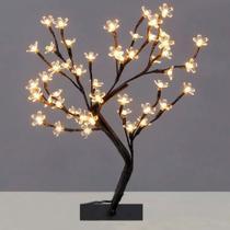 Luminária Árvore Flor De Cerejeira Branco Quente 60 Leds - Wincy