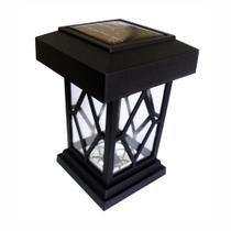Luminária Balizadora Solar - Lampião - DNI 6118 - Key west