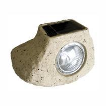 Luminária Balizadora Solar - Pedra - DNI 6123 - Key West