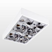 Luminária Blumenau 4xE27 de Sobrepor com Aleta de Alto Rendimento Branco - BLUMENAU -