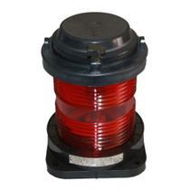 Luminária Circular Vermelha LED 360 Graus 12V Ripeam 72 - Marine Importa