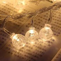Luminária Cordão Fio De Luz 20 Bolas Bolhas 3m Led Decoração - Vil