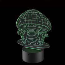 Luminária de Led - Cogumelos - Acrilico Store
