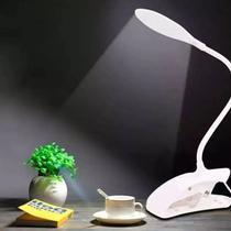 Luminaria De Mesa Led Touch Articulavel Para Escritorio Leitura Com 3 Niveis De Luz Com GARRA - Mkb