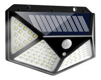 Luminária De Parede  Energia Solar À Prova Dágua Economia de Energia Lampada Solar Leds - Exclusivo
