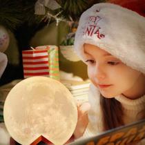 Luminária Decorativa Lua Cheia 8 Cores - Yaay