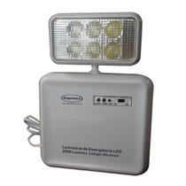 Luminaria Emergencia Led Segurimax 2000 Lumens 1 Farol  24531 -
