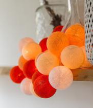 Luminária Fio Cordão de Luz de 20 bolas Cormilu Carrie - A PILHA -