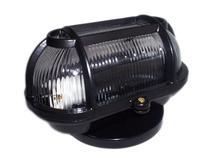 Luminaria FM cod 501 Tartaruga Aluminio Vidro Transp Preto -