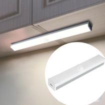 Luminária Lâmpada Barra Led Sensor Presença Movimento Luz de Emergência Closets Armários Nichos Sem Fio Recarregável USB - DS
