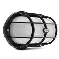 Luminária LED Arandela Sobrepor 3000K 12W 127V-220V Resistente à Água Tipo Tartaruga - Iluctron