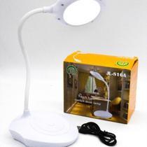 Luminária Led de mesa Leitura Touch Bateria Recarregável - Jl